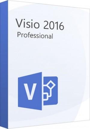 Microsoft Visio Professional 2016 1PC