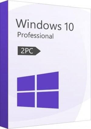 Windows 10 Pro CD-KEY (32/64 Bit) (2 PC)