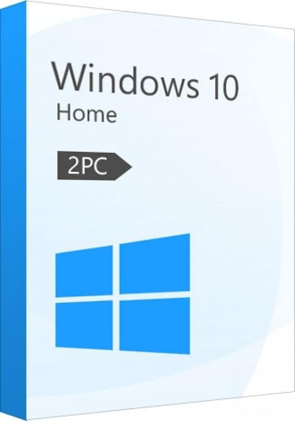 Microsoft Windows 10 Home CD-KEY 2 PC