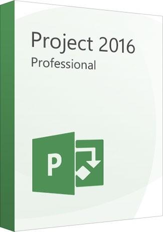 Microsoft Project Professional 2016 1PC